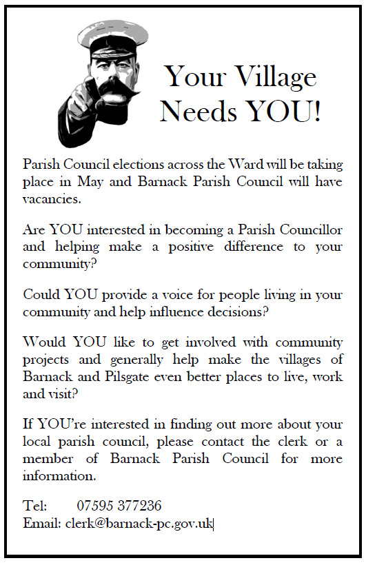 Your village needs you.